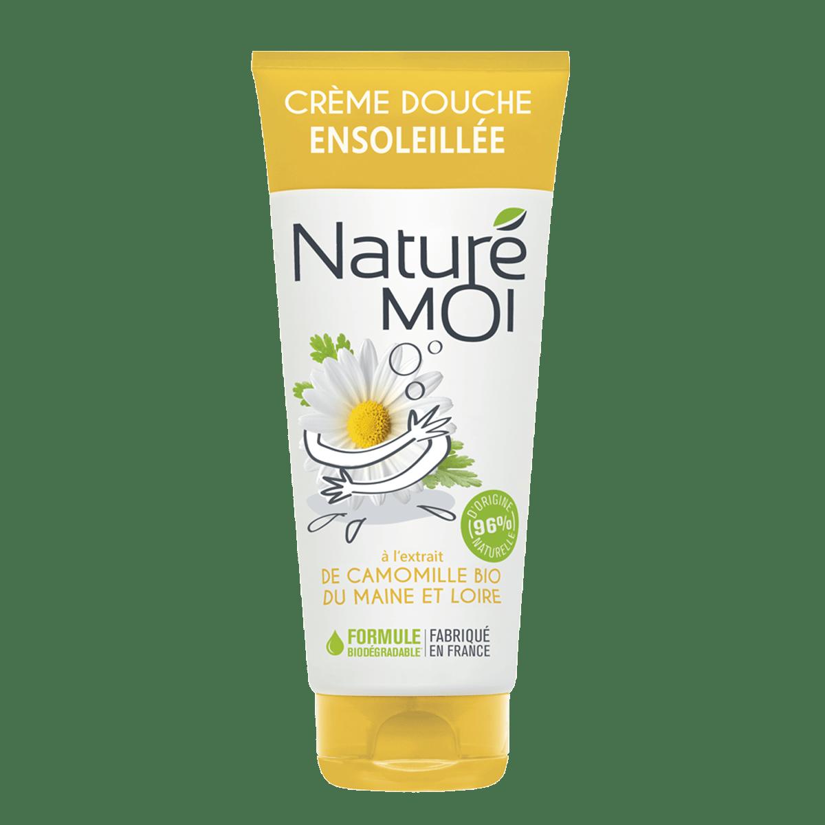 Crème Douche Ensoleillée à la camomille BIO du Maine et Loire
