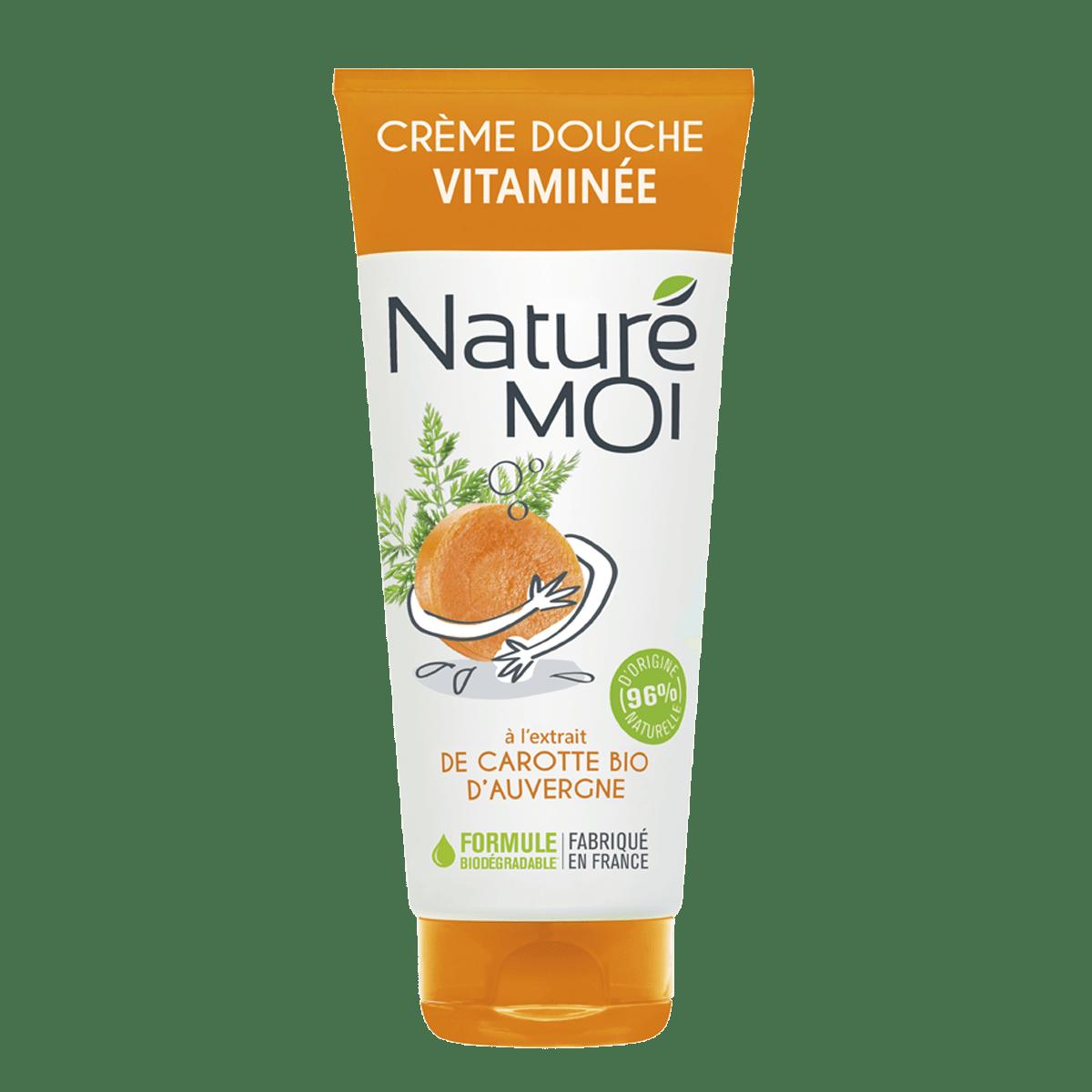 Image Crème Douche Vitaminée à la carotte BIO d'Auvergne