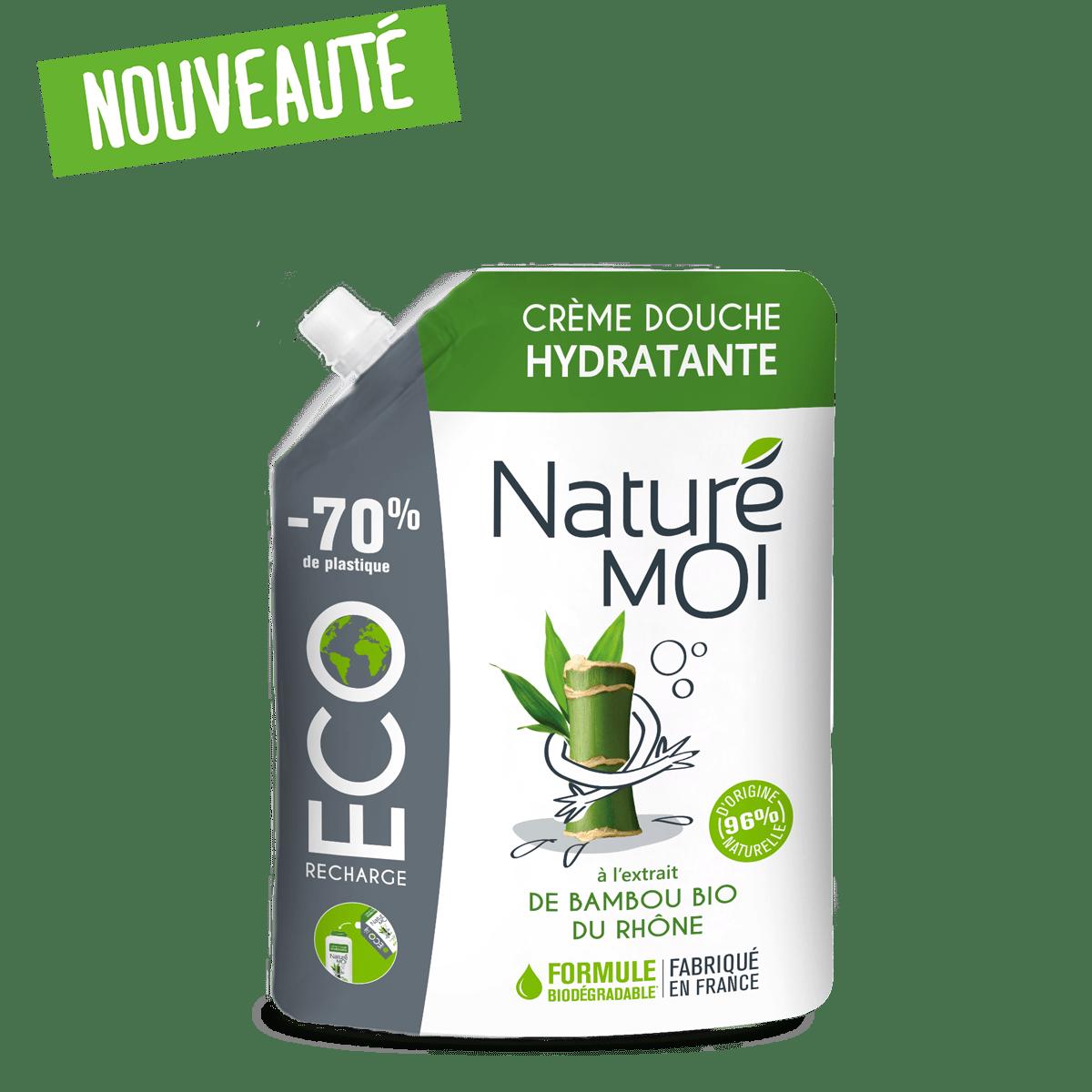 Éco Recharge Crème Douche Hydratante au bambou BIO du Rhône