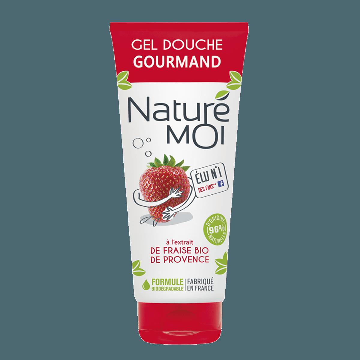 Image Crème Douche gourmand à la fraise BIO de Provence