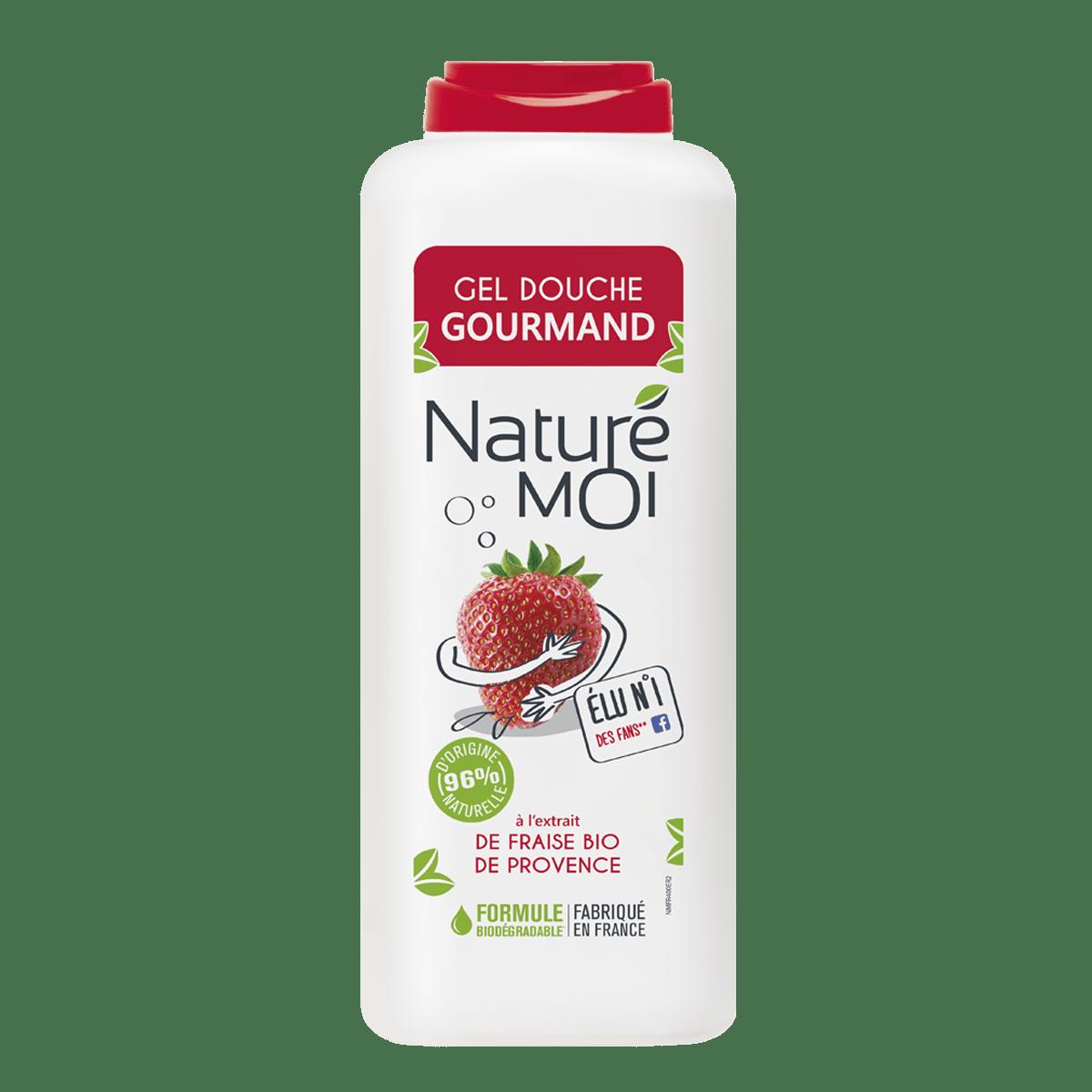 Gel Douche gourmand à la fraise BIO de Provence