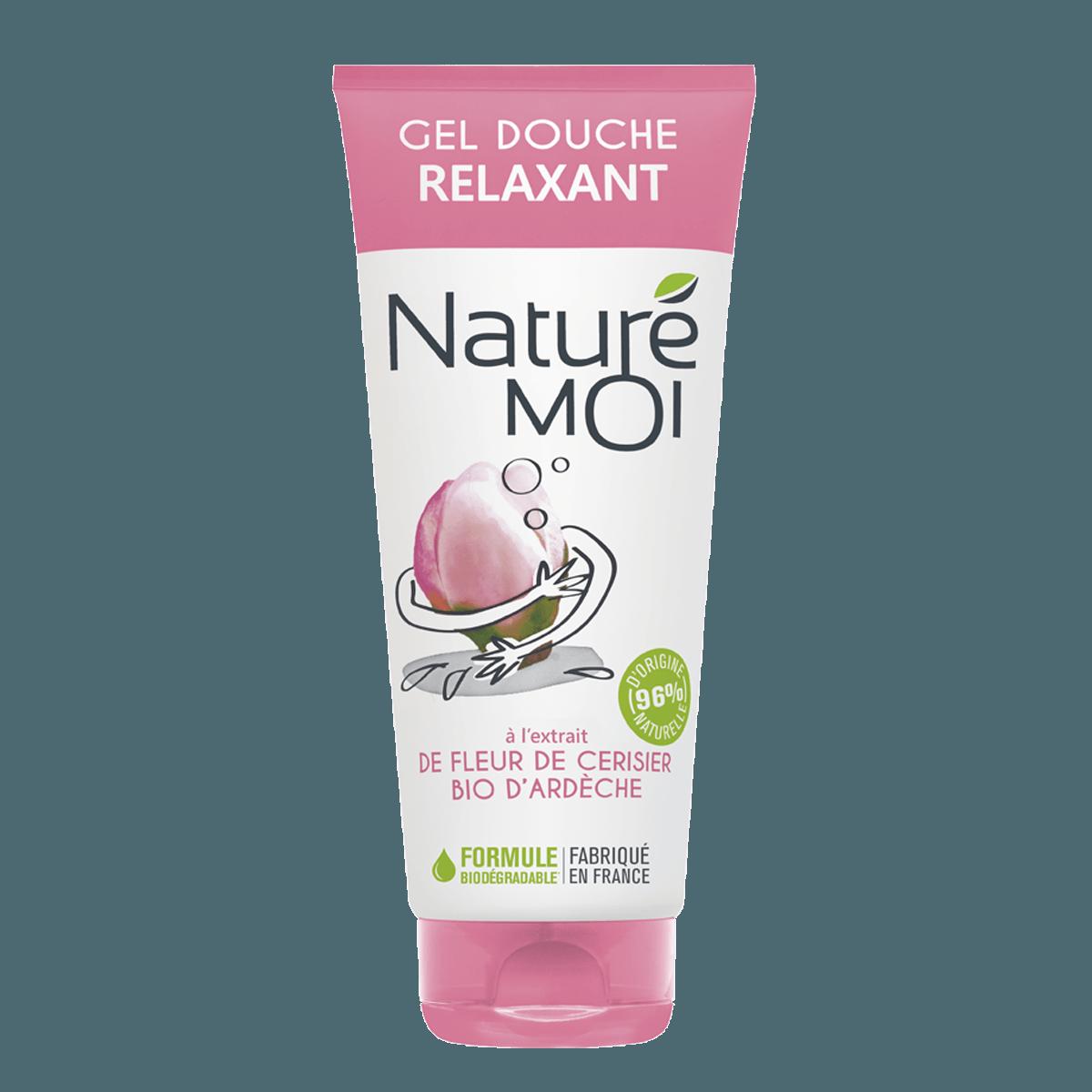 Gel Douche Relaxant à la fleur de cerisier BIO d'Ardèche