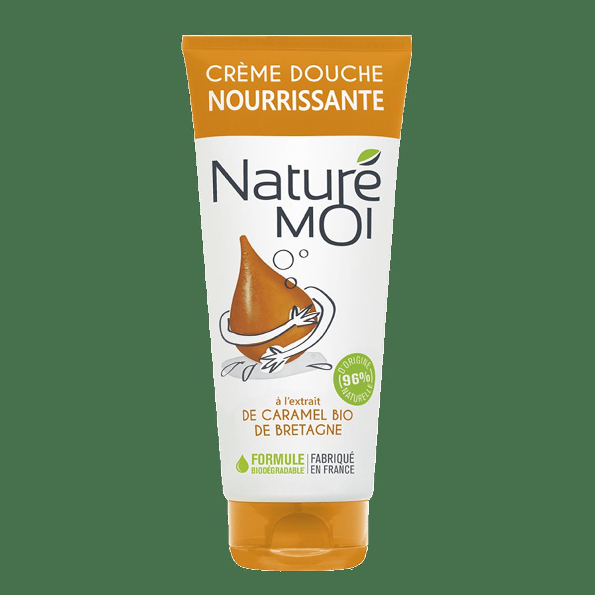 Crème Douche Nourrissante Au caramel BIO de Bretagne